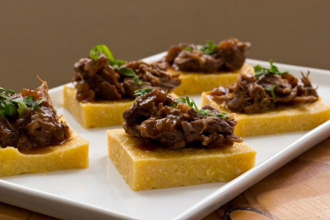 Polenta Braised Beef Main