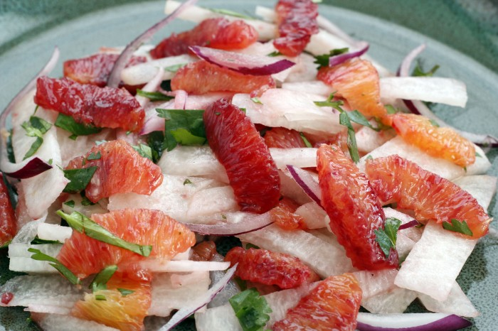 Blood Orange & Jicama Salad